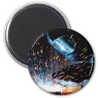 Welding Sparks Magnet