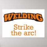Welding - Strike the arc! Print