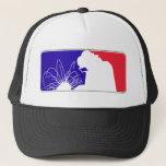 "Welding Trucker Hat<br><div class=""desc"">NBA inspired welding design</div>"