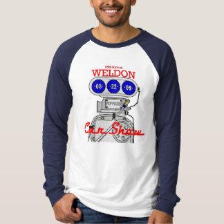 Weldon Carshow Mens Raglan T-shirt
