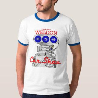 Weldon Carshow Mens Ringer T-Shirt