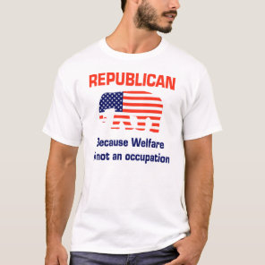 Welfare is not an Occupation T-Shirt
