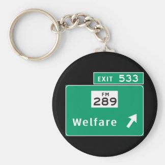 Welfare Keychain