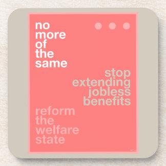 Welfare Reform Beverage Coaster
