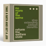 Welfare Reform Binders
