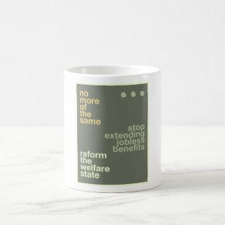 Welfare Reform Classic White Coffee Mug