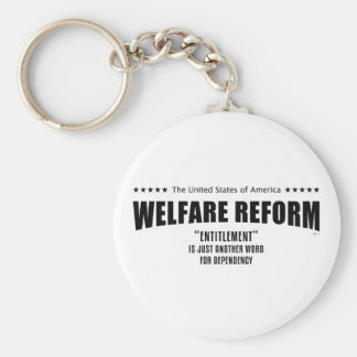 Welfare Reform Keychain