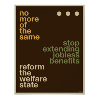 Welfare Reform Poster