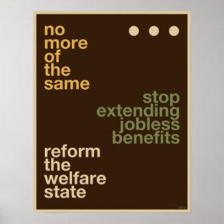 Welfare Reform Poster