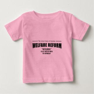 Welfare Reform Tee Shirt