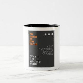 Welfare Reform Two-Tone Coffee Mug