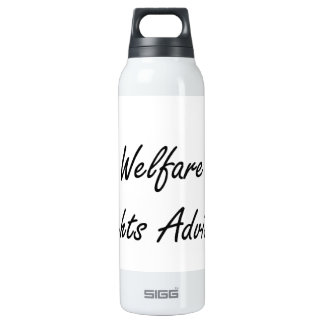 Welfare Rights Adviser Artistic Job Design 16 Oz Insulated SIGG Thermos Water Bottle
