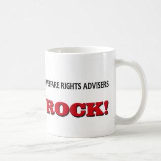 Welfare Rights Advisers Rock Coffee Mug