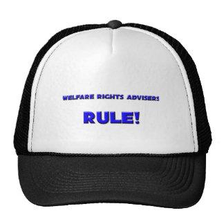 Welfare Rights Advisers Rule! Mesh Hats