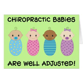 Well Adjusted Babies Card