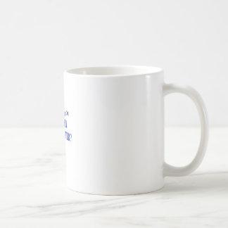 WELL ADJUSTED CLASSIC WHITE COFFEE MUG