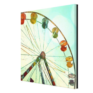 Well Amuse Carnival Ride Canvas