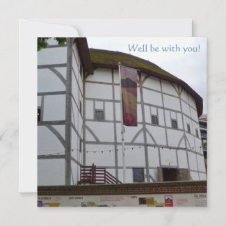 Well Be With You! Shakespeare Card
