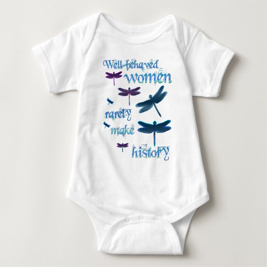 Well-behaved Dragonflies Baby Bodysuit