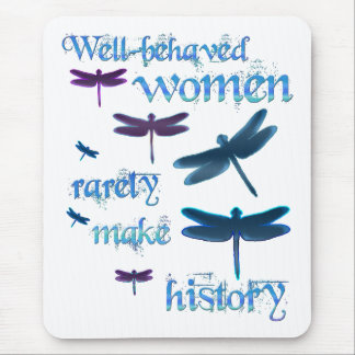 Well-behaved Dragonflies Mouse Pad