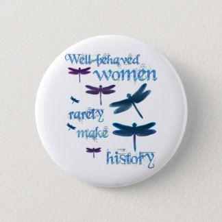 Well-behaved Dragonflies Pinback Button