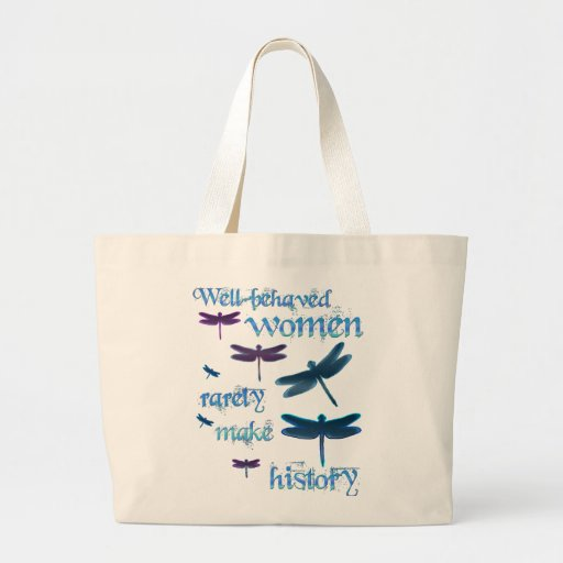 Well-behaved Dragonflies Tote Bag
