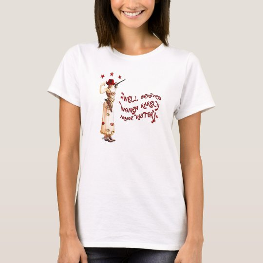 Well Behaved Gypsy Rebel Cowgirl T-Shirt