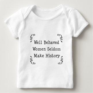 Well Behaved Women Baby T-Shirt