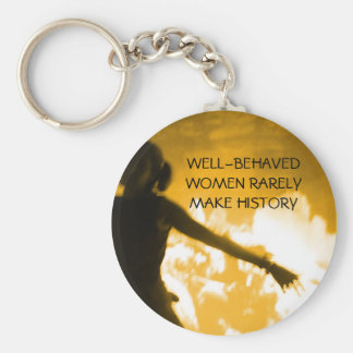 WELL-BEHAVED WOMEN - keychain