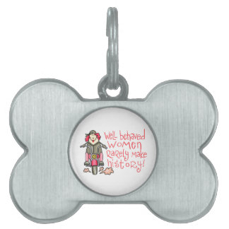 WELL BEHAVED WOMEN PET TAGS