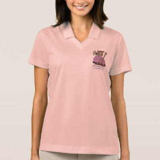 Well behaved women rarely make history, pink polo shirts