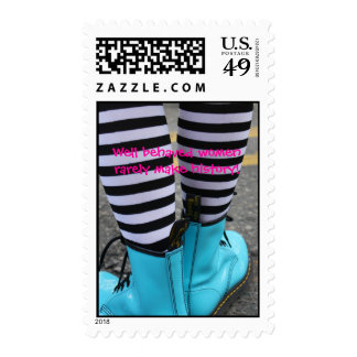 """"""" Well behaved women rarely make history!"""" Postage Stamp"""