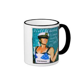 Well Behaved Women Ringer Mug
