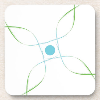 Well being lab drink coaster