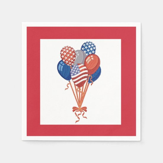 We'll Celebrate July 4th Party Paper Napkins