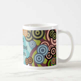 Well Connected Humans Mug, Multi-colour Targets Classic White Coffee Mug