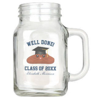 Well Done Class Of 2018 Graduation Party Favors Mason Jar