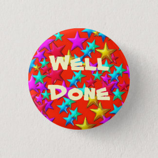 Well Done Red Star Button