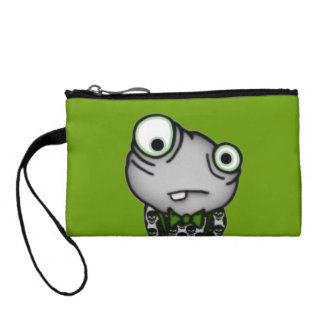 Well Dressed Monster Change Purse
