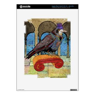 Well Dressed Raven iPad 3 Skins