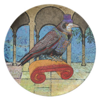 Well Dressed Raven Plate