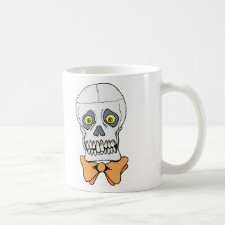 Well-Dressed Skull Mug
