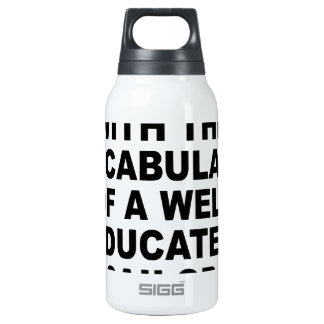 Well Educated Sailor Nerdgasm Women's T-Shirts.png Insulated Water Bottle