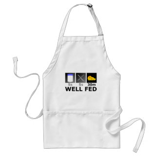 Well Fed Adult Apron