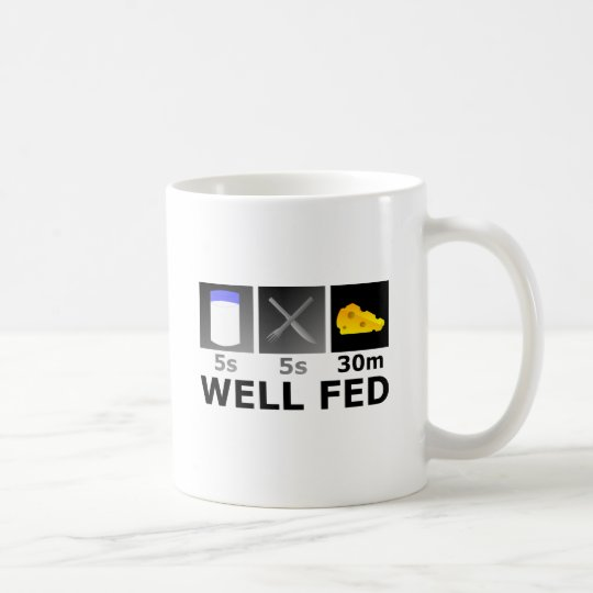 Well Fed Coffee Mug