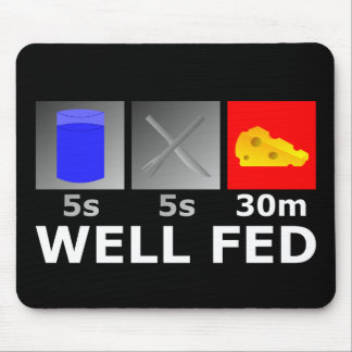Well Fed Mouse Pad