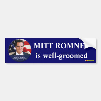 Well-groomed - Bumpersticker Bumper Sticker