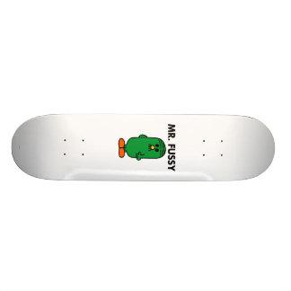 Well-Groomed Mr. Fussy Custom Skateboard