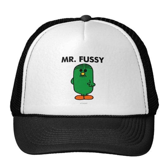 Well-Groomed Mr. Fussy Trucker Hat
