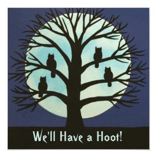 We'll Have a Hoot! Invitation